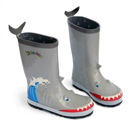 Kidorable Shark Rain Boots