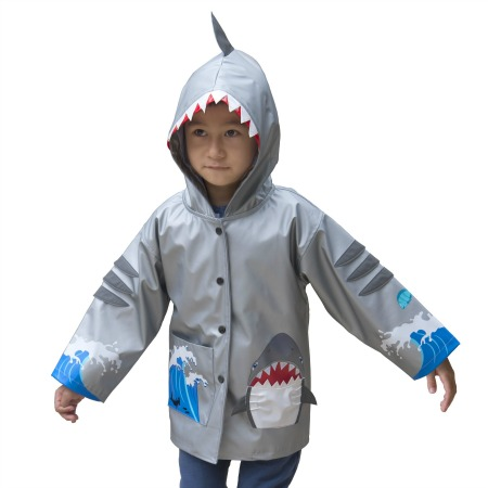 Kidorable Shark Rain Coat
