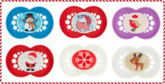 MAM Holiday Pacifiers Set