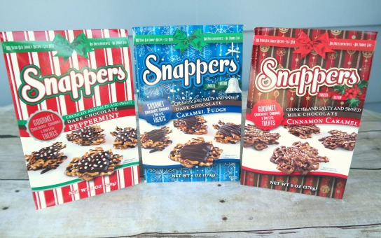 Snappers Chocolate Pretzel Treats