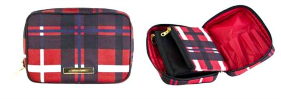 Tartan and Twine Beauty Case