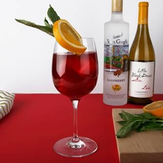 Vineyard Raspberry Sangria Recipe