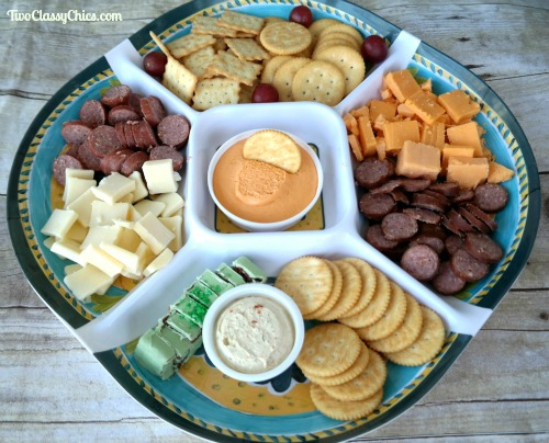 Snacks and Appetizers Tray