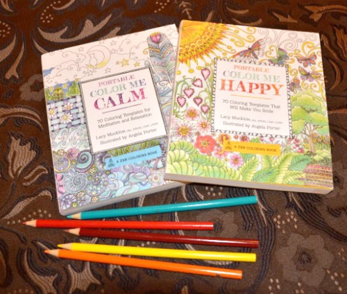 Calm and Happy Adult Coloring Books