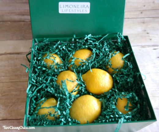Limoneira Fresh Lemons in Gift Box