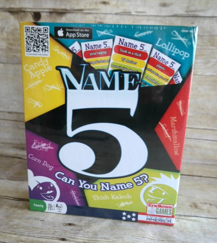 Family Game Night: Name 5 by Endless Games