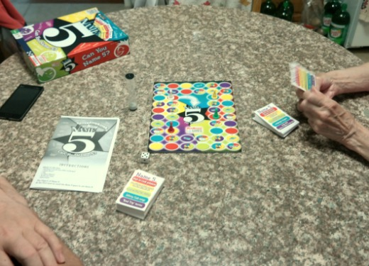 Name 5 Board Game by Endless Games