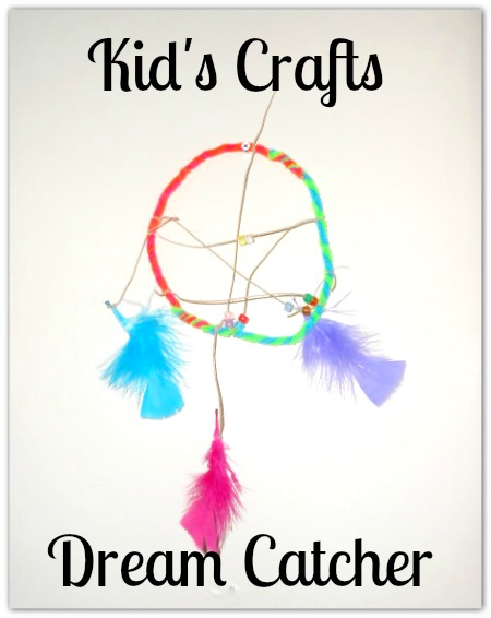 Kid's Craft Project: Easy Dream Catchers