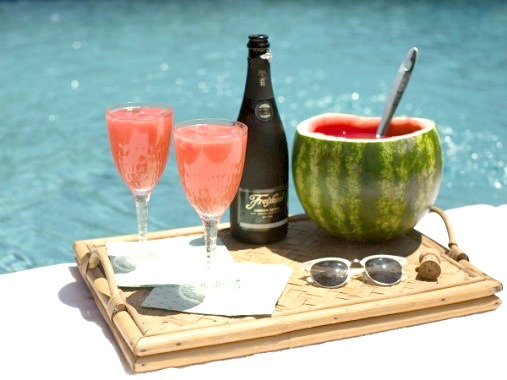 Sweet Sparkling Watermelon Cocktail Recipe