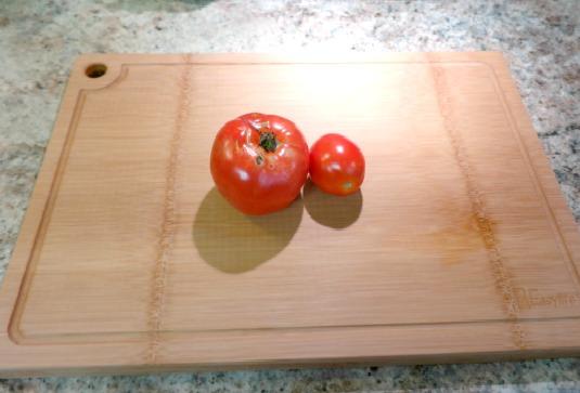 1EasyLife 100% Natural Bamboo Cutting Board Set
