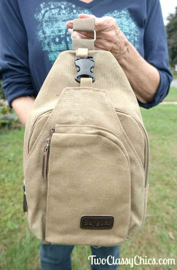 Saygoer Light-Weight Canvas Sling Bag