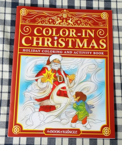 Color-In Christmas Coloring Book for Kids