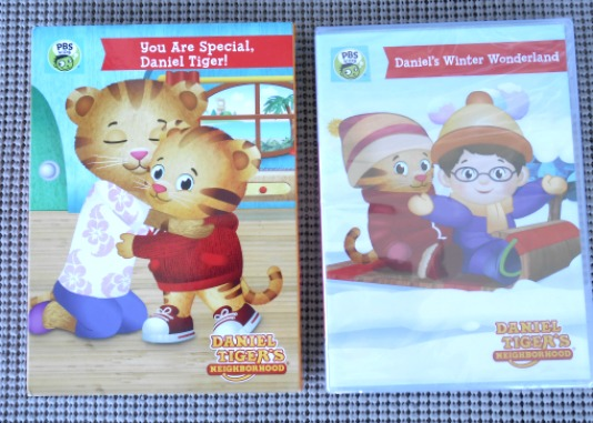 Daniel Tiger Children's DVDs