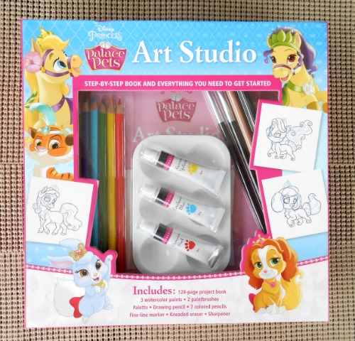 Disney Princess Palace Pets Art Studio Kit