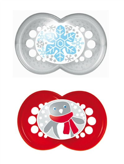 Holiday Baby Pacifiers from MAM