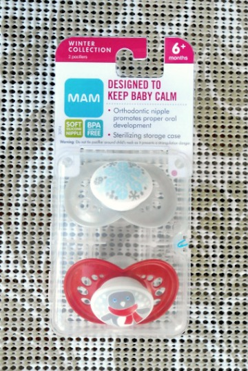MAM Baby Holiday Pacifiers