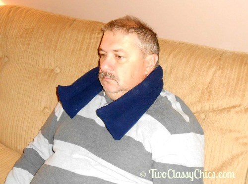 Lavender-Scented Microwavable Neck Heat Wrap