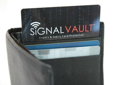 SignalVault RFID Blocker Keeps Your Credit Cards Safe!