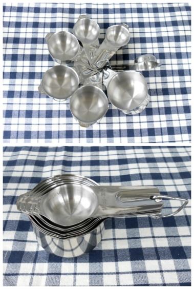Stainless Steel Measuring Cups Set