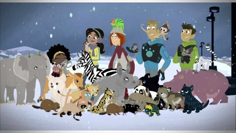 Wild Kratts A Creature Christmas DVD