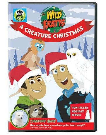 Wild Kratts A Creature Christmas DVD