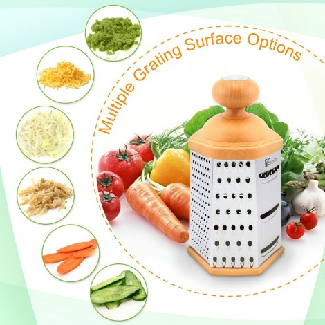 Multi-Purpose Stainless Steel Grater