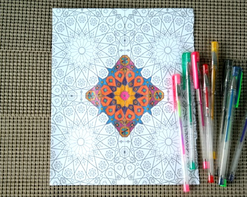 Around the World Adult Coloring Book