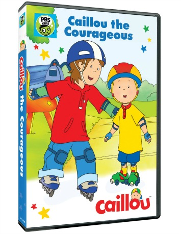 Caillou the Courageous Children's DVD