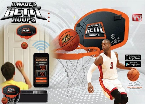 Dwayne Wade's Get It Hoops Basketball Game