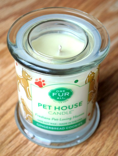 Holiday-Scented One Fur All Pet House Candles