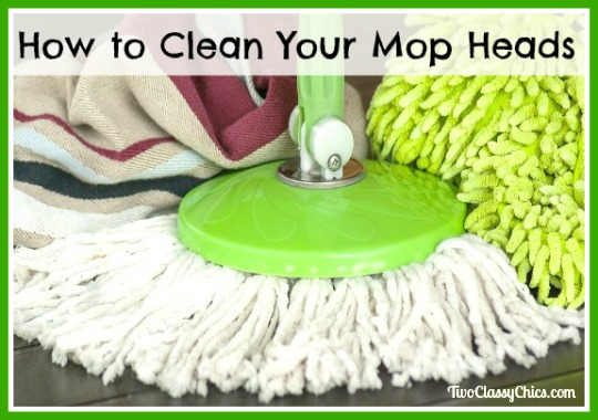 Tips on How to Clean Your Mop Heads