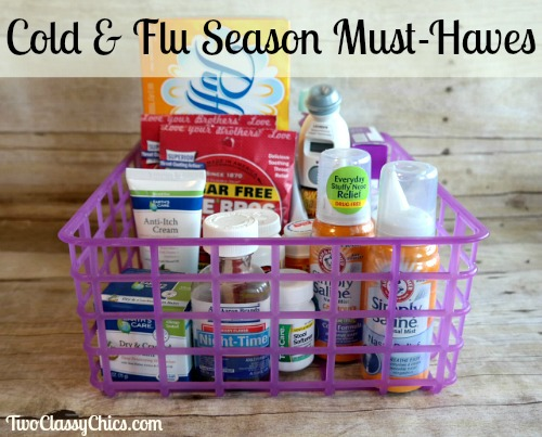 Medicine Cabinet Must-Haves for Cold and Flu Season