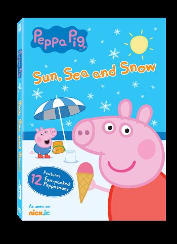 Peppa Pig: Sun, Sea and Snow Children's DVD