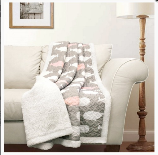 Sherpa Throw Blankets from Lush Decor
