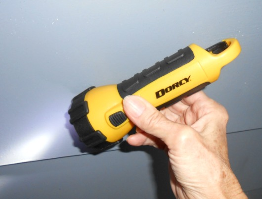 Dorcy 150 Lumens Waterproof Flashlight