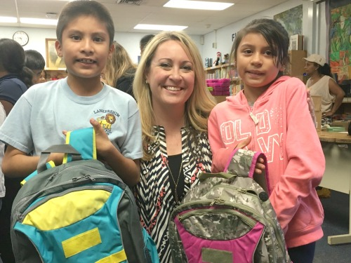 Impact a Child's Life with a Backpack from Sydney Paige