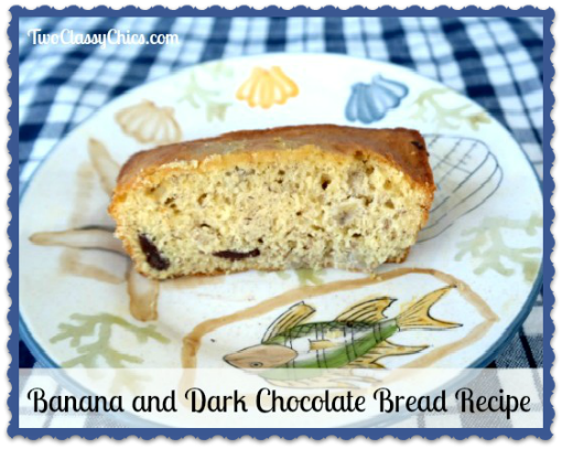 Banana and Dark Chocolate Bread Recipe