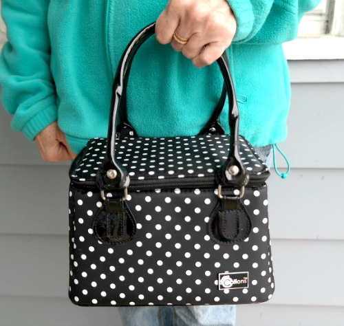 5 Ways to Get Organized with the Creative Options Polka Dot Tote