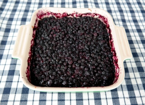 Homemade Blueberry Cobbler Recipe