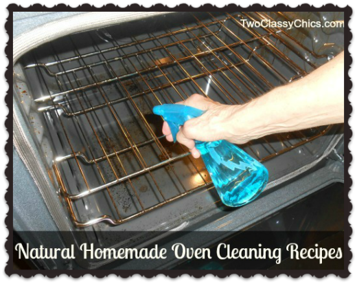 Natural Homemade Oven Cleaning Recipes