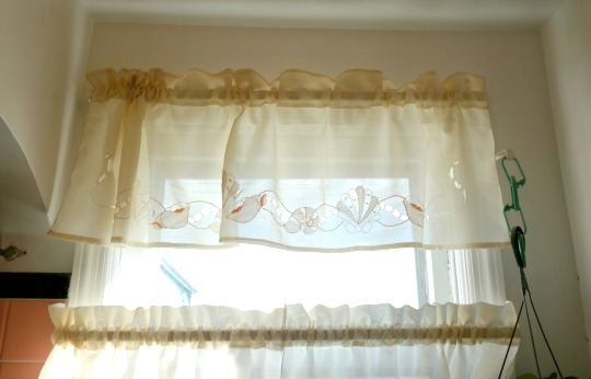 Coastal Seashell Window Curtains