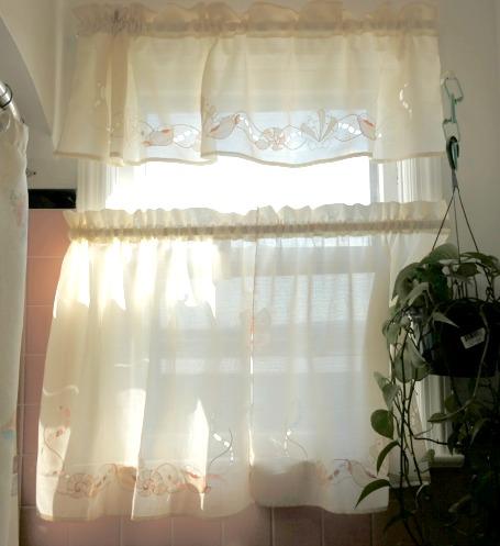 Coastal Seashell Window Curtains
