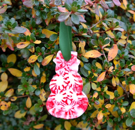 Craft Project: Peppermint Candy Christmas Ornaments