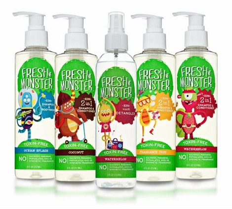 Natural Kid's Hair Care Products – Fresh Monster