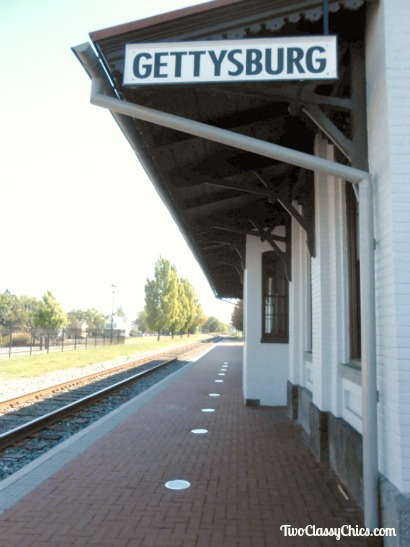 The Old Gettysburg Train Station
