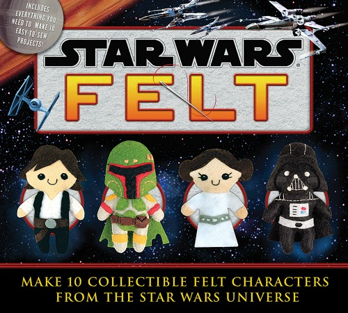 Star Wars Collectible Felt Characters Craft Kit