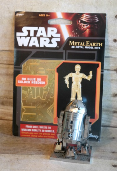 Star Wars 3D Metal Model Kits – Hubby's Newest Hobby Obsession