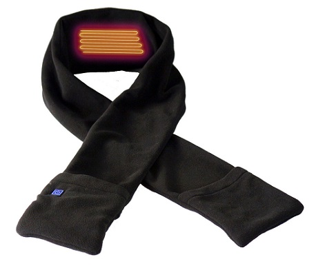 Keep Warm this Winter with a Heated Scarf
