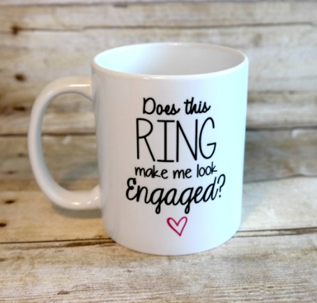 Cute Engagement Gift for the Bride-to-Be