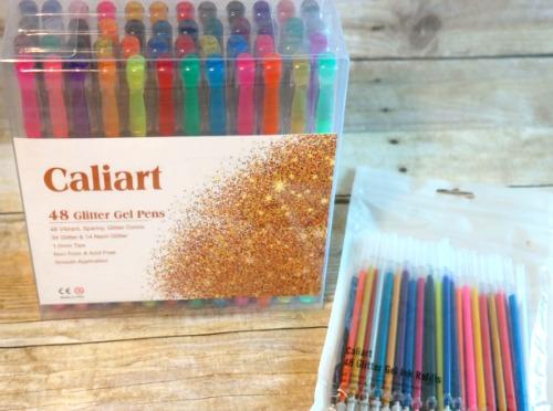 Ultimate Premium Glitter Gel Pen Set for Adult Coloring